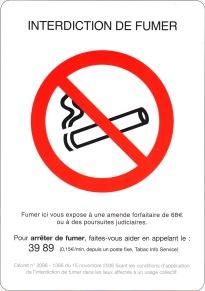 Interdiction de fumer (c)UMIH